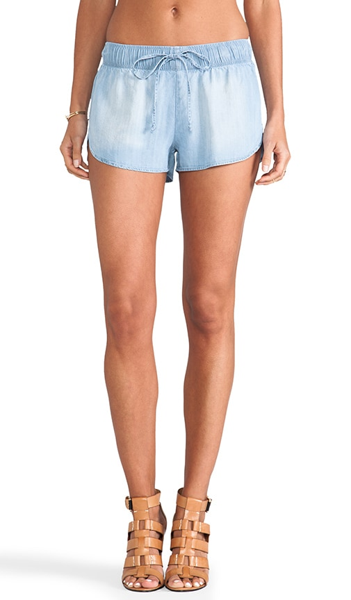 Dani Denim Track Shorts