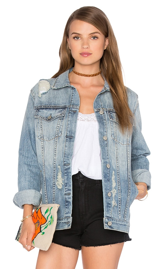 Rails Knox Denim Jacket in Medium Vintage Wash