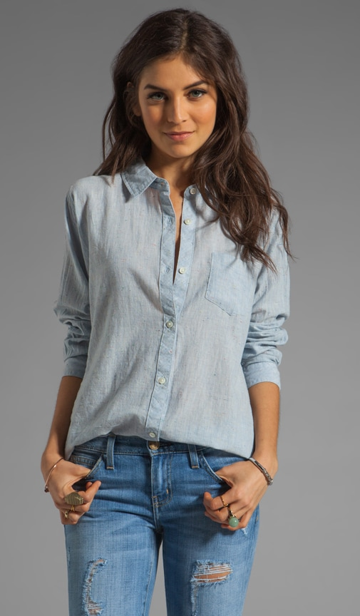 Chase Speckled Button Down