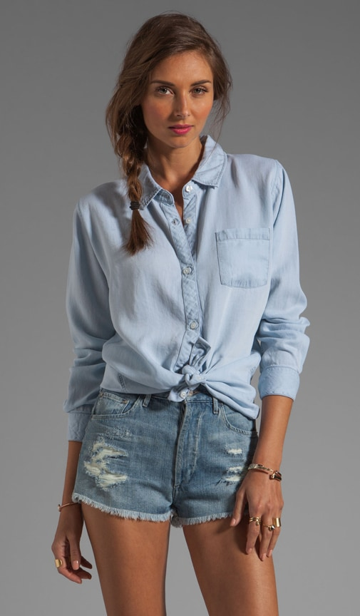 Blake Tencel Denim Button Down