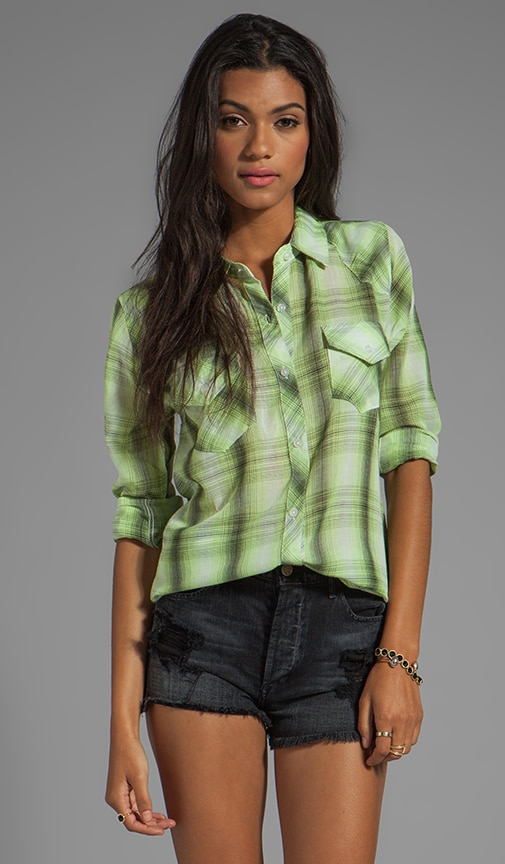 Taylor Gauze Button Down