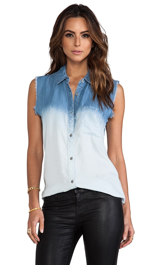 Willa Cut-Off Ombre Top