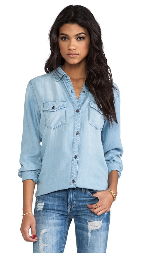Kendall Denim Button Down