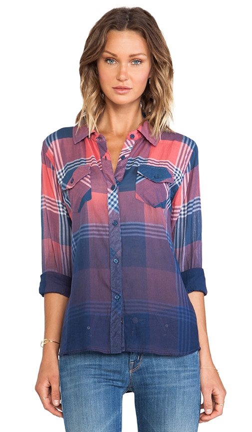 Ashton Ombre Dye Button Down