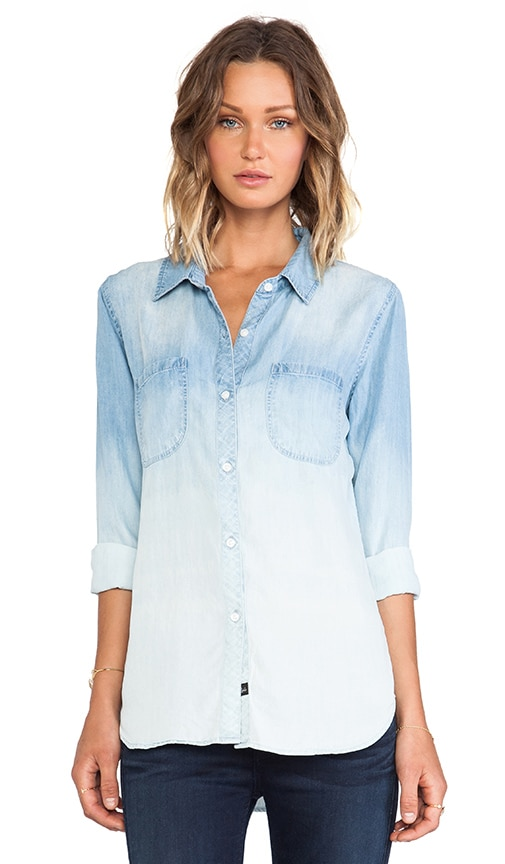 Carter Denim Button Down