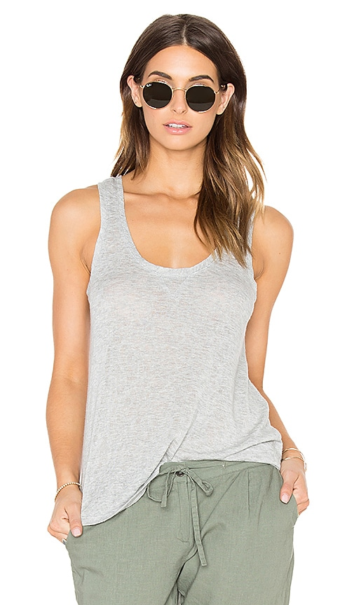 Rails Poppy Tank in Gray