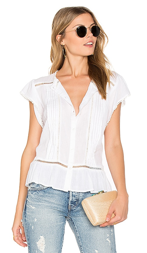 Rails Audra Top in White