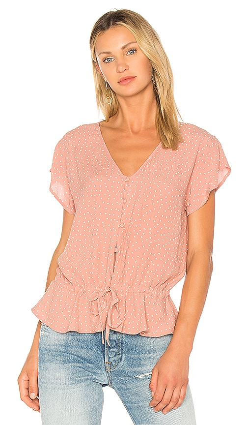 Rails Bretton Blouse in Pink