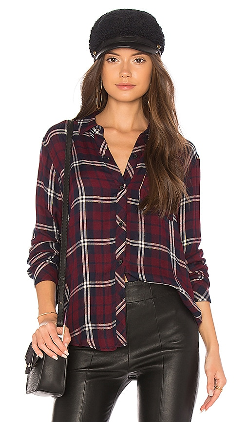 Rails Gemini Shirt in Wine