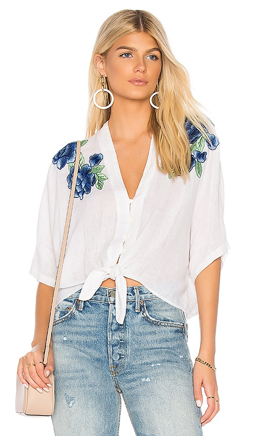 Rails Thea Top in White