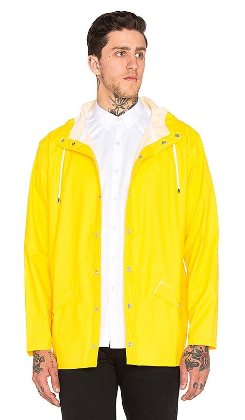 Rains Jacket in Wax Yellow