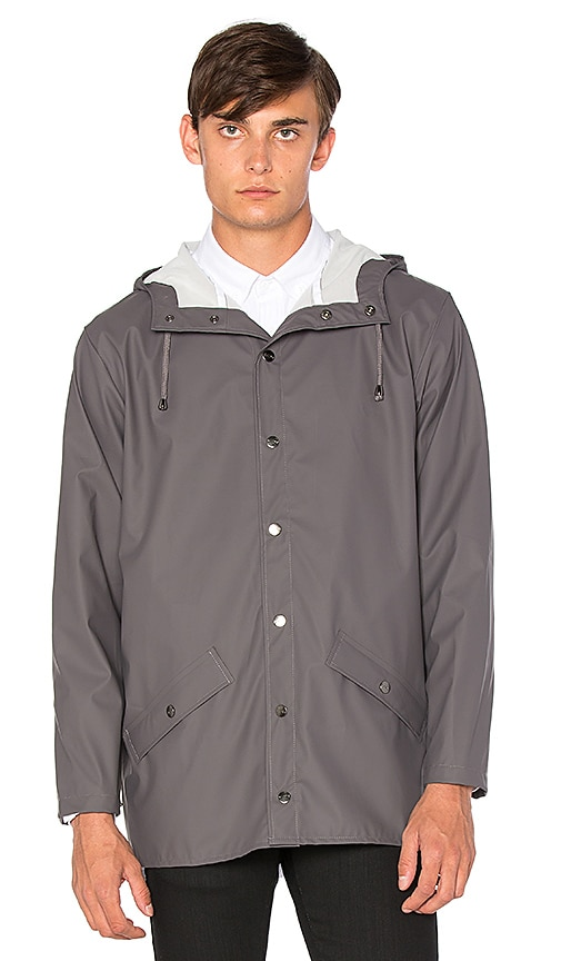 Rains Jacket in Grey