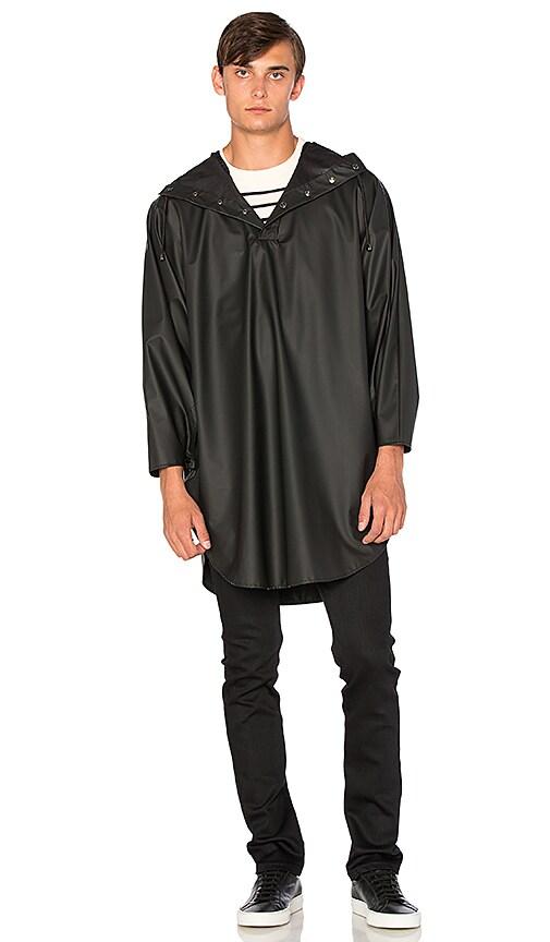 Rains Poncho in Black