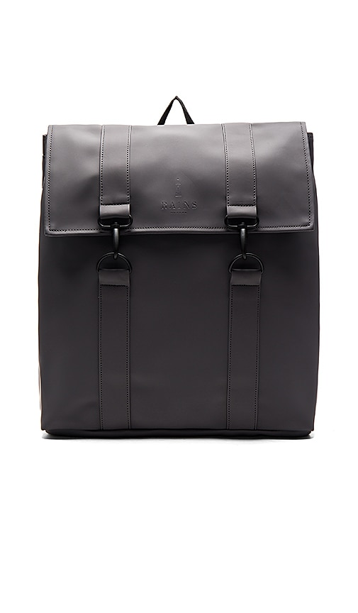 Rains MSN Bag in Charcoal