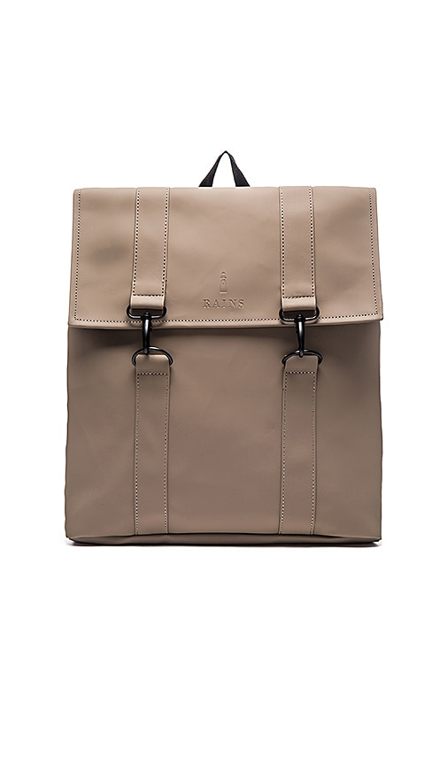 Rains MSN Bag in Taupe