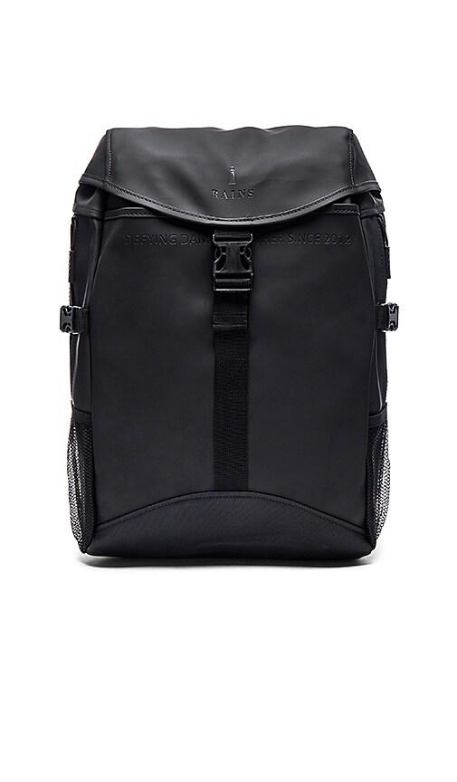 Rains Runner Bag in Black