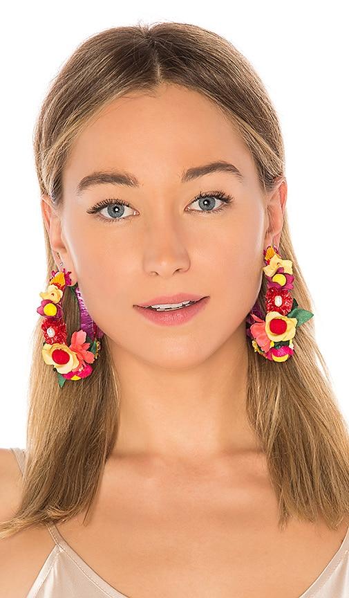 x REVOLVE Hera Earrings in Orange NANNACAY Er2AVb