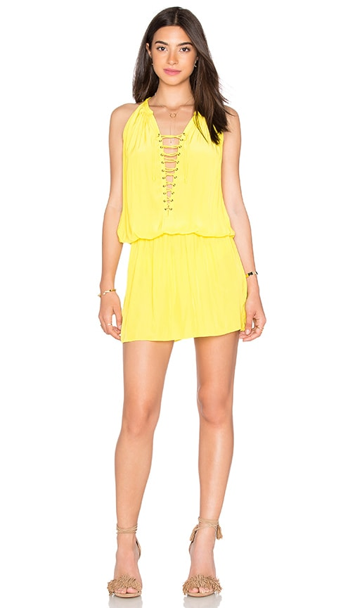 RAMY BROOK Alexandra Dress in Yellow