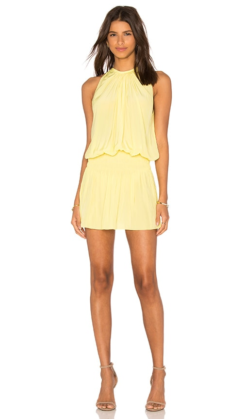 RAMY BROOK Paris Sleeveless Dress in Yellow