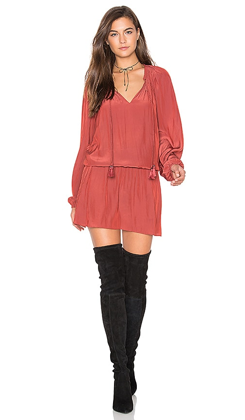 RAMY BROOK London Dress in Cognac