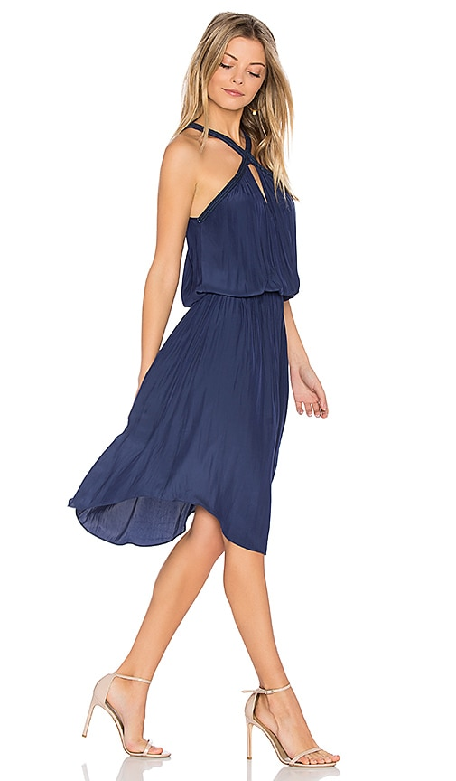 RAMY BROOK Caroline Dress in Navy
