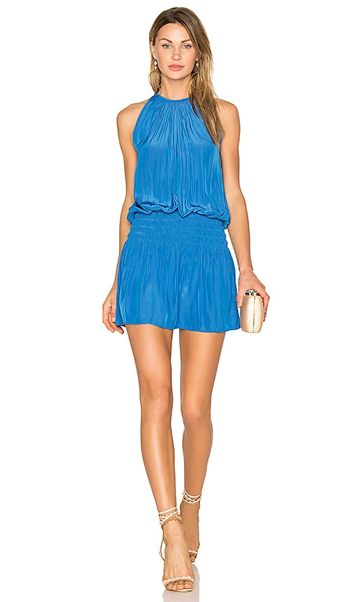 RAMY BROOK Paris Sleeveless Dress in Blue