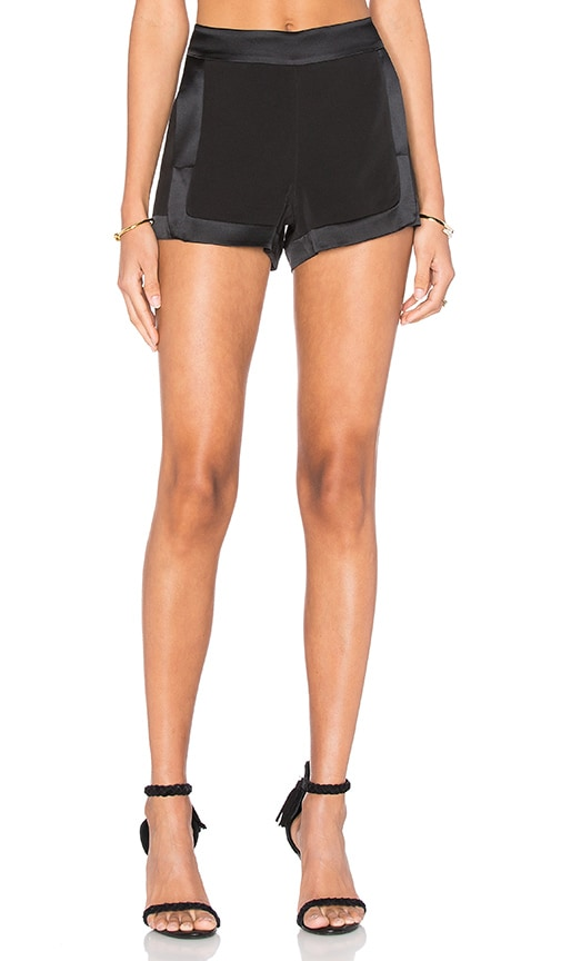 RAMY BROOK Leilah Short in Black