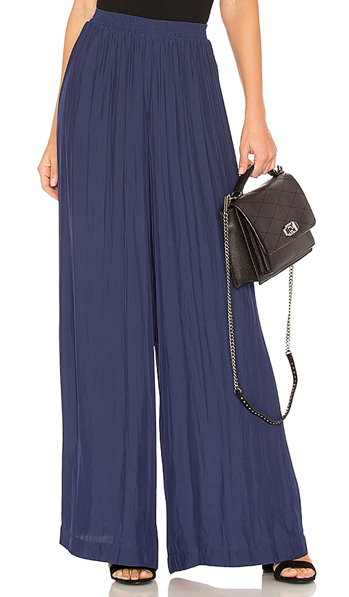 RAMY BROOK Palazzo Pant in Navy