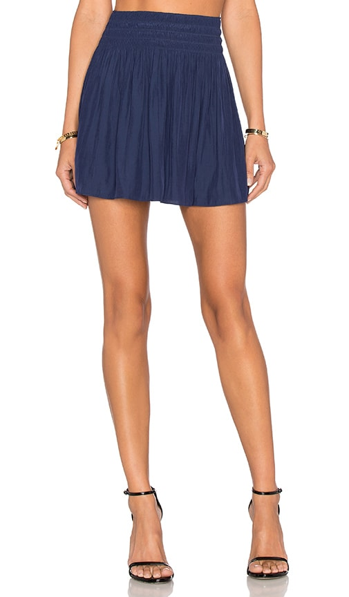RAMY BROOK Paris Skirt in Navy
