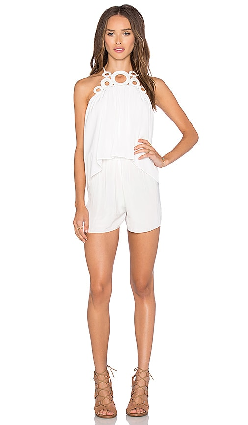 RAMY BROOK Jilly Romper in White