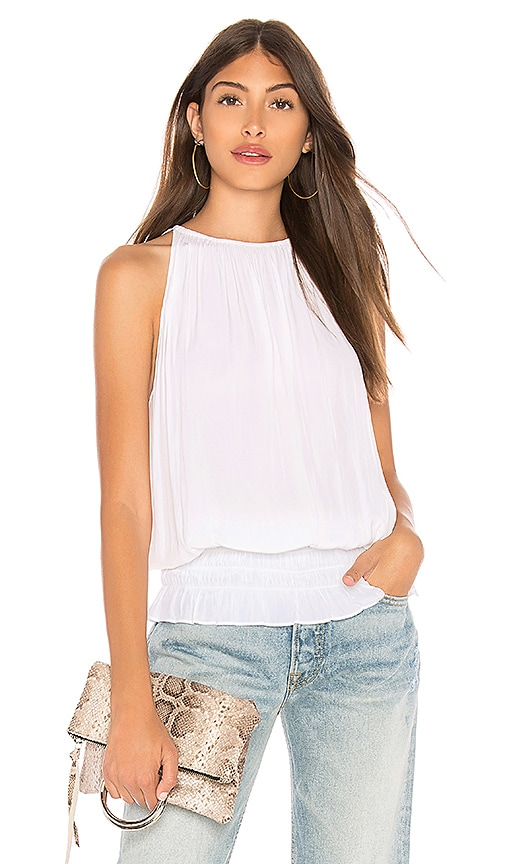 RAMY BROOK Lauren Top in Ivory