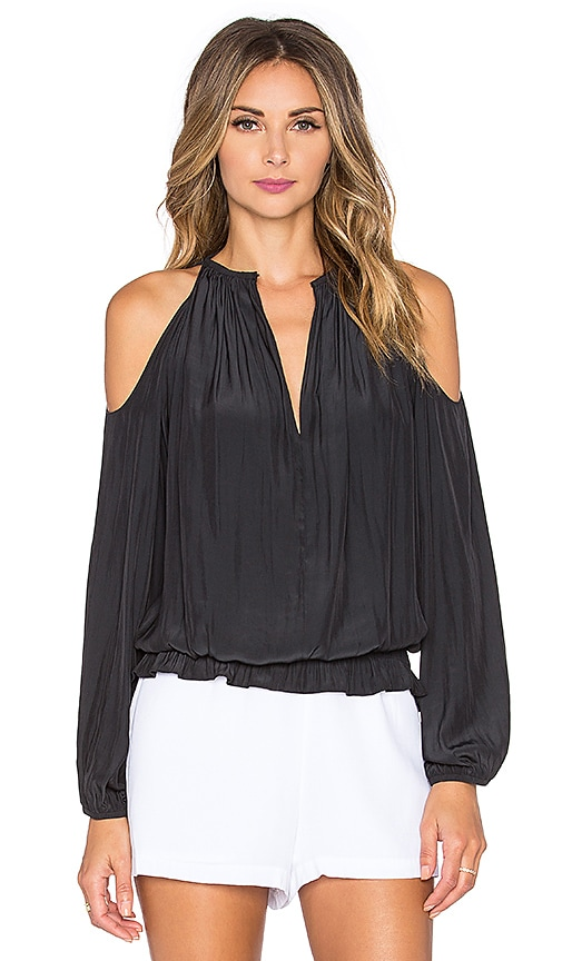 RAMY BROOK Lauren Top in Black