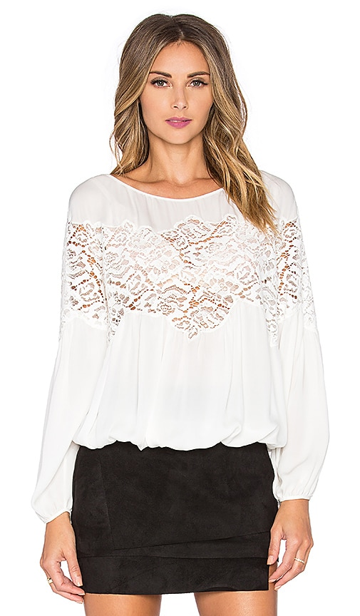 RAMY BROOK Sylvia Top in Soft White