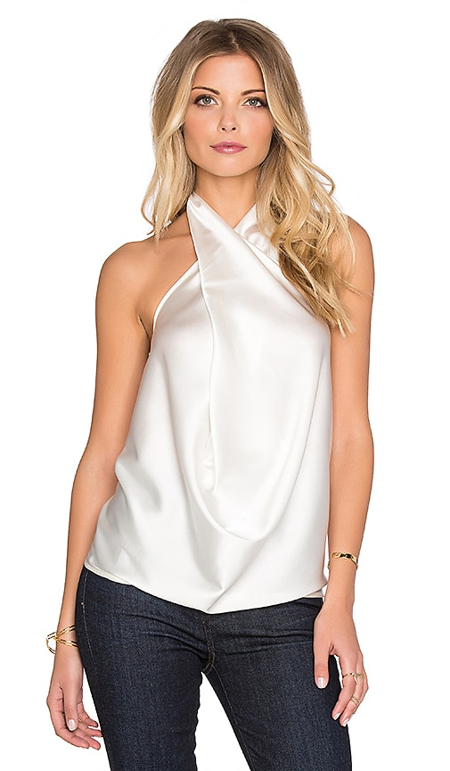 RAMY BROOK Harriet Top in Ivory