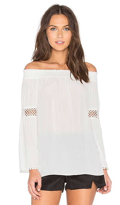 RAMY BROOK Dali Off the Shoulder Top in White