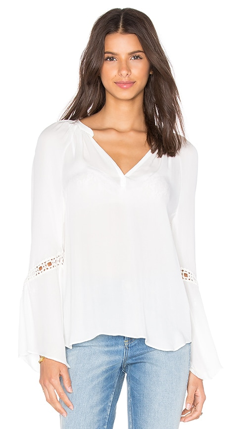 RAMY BROOK Hadley Top in White