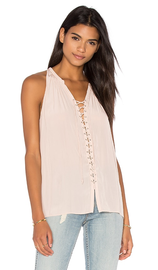 RAMY BROOK Patricia Tank in Blush