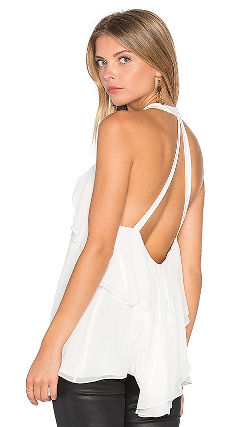 RAMY BROOK Beatrice Halter Tank in White
