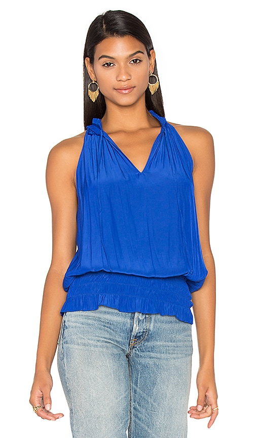 RAMY BROOK Eliza Tank in Blue