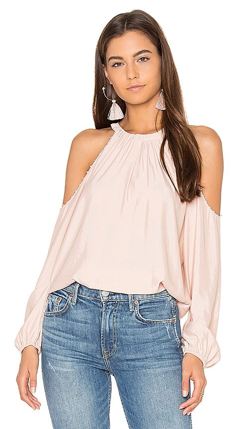RAMY BROOK Jackson Blouse in Blush