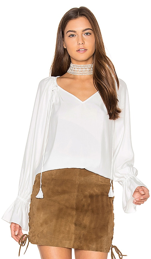 RAMY BROOK Lanie Blouse in White