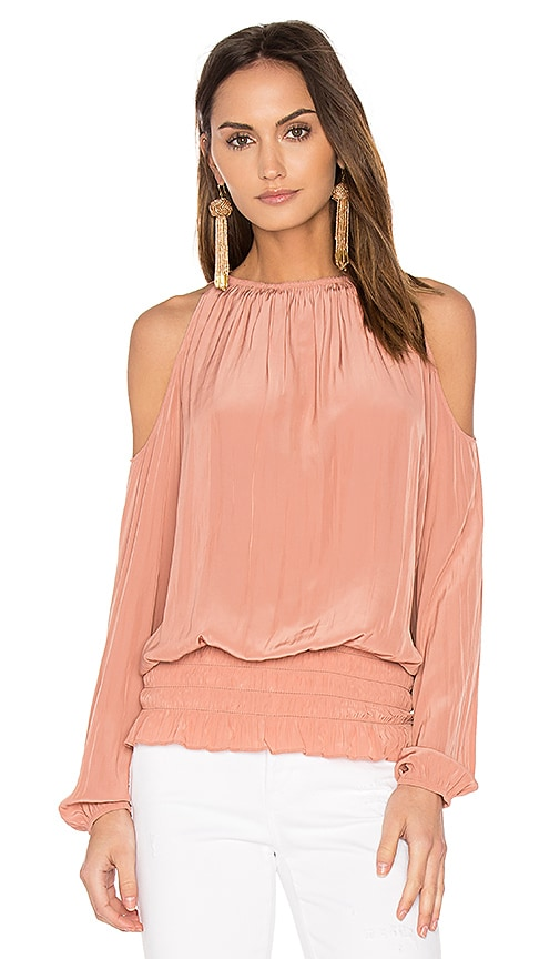 RAMY BROOK Lauren Top in Pink