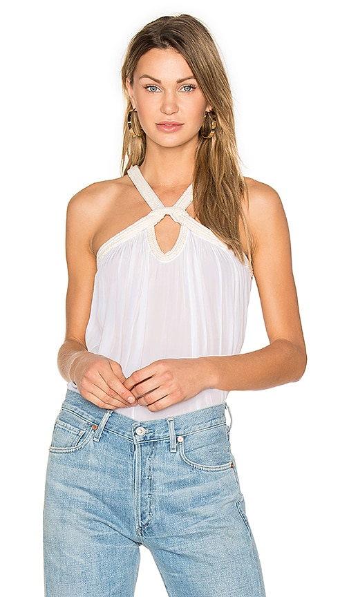 RAMY BROOK Lillian Tank in Ivory