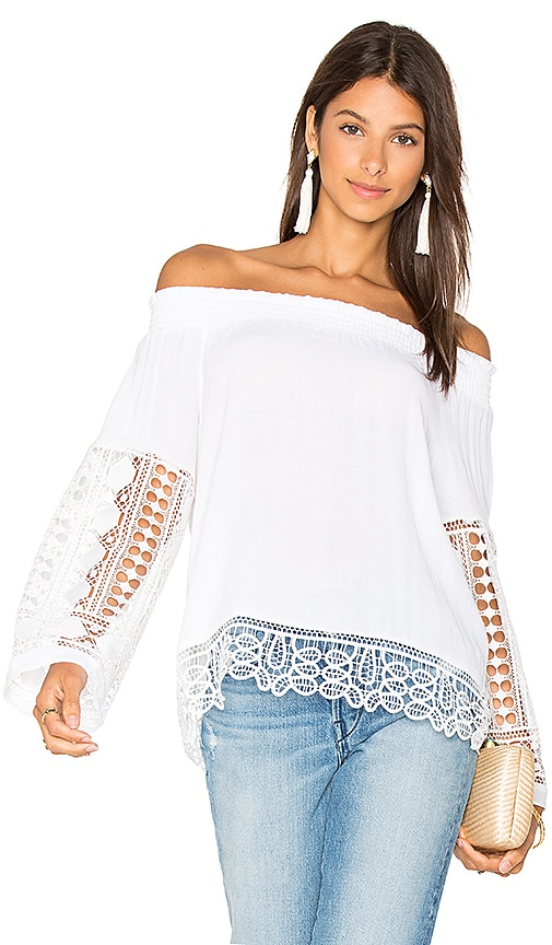 RAMY BROOK Lynsey Top in White
