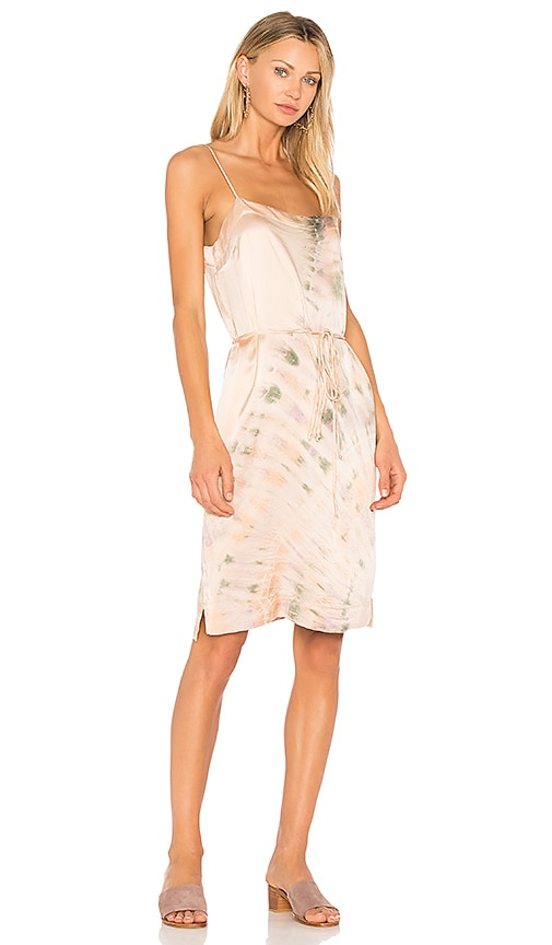 Raquel Allegra Spaghetti Dress in Pink