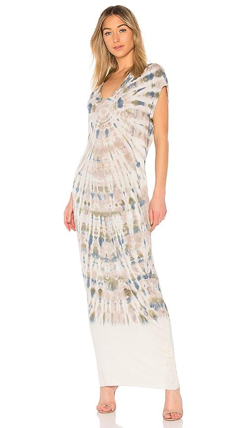 a92ba659087e2 Raquel Allegra Caftan Dress in Earth Tie Dye