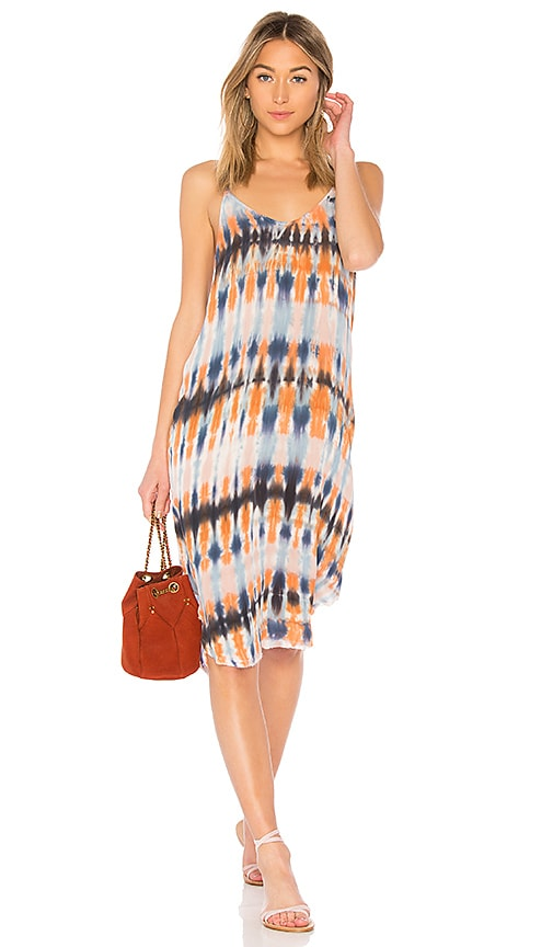 Raquel Allegra Slip Dress in Blue