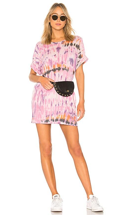 Raquel Allegra T Shirt Dress in Lavender
