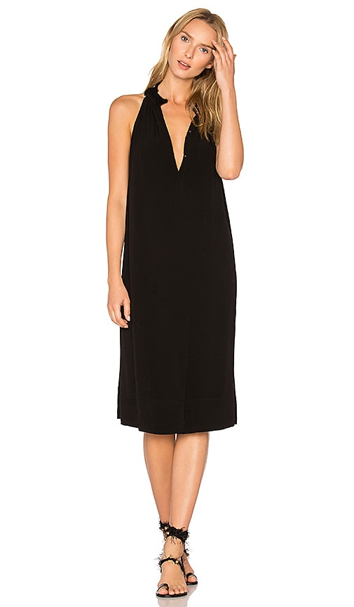 Raquel Allegra Halter Dress in Black