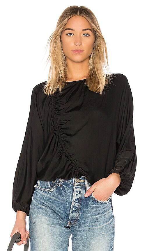 Raquel Allegra Flight Sweatshirt in Black